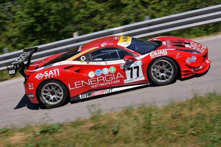 Maurizio Pitorri ( Best Lap, Ferrari 488 Challenge #77)