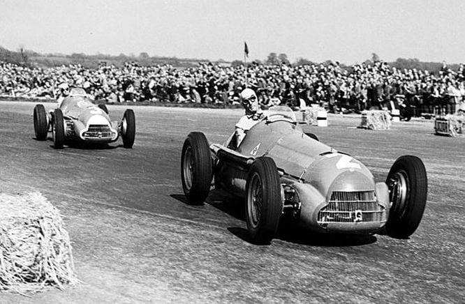 Farina-Fagioli-Alfa-Romeo-Silvestone-1950