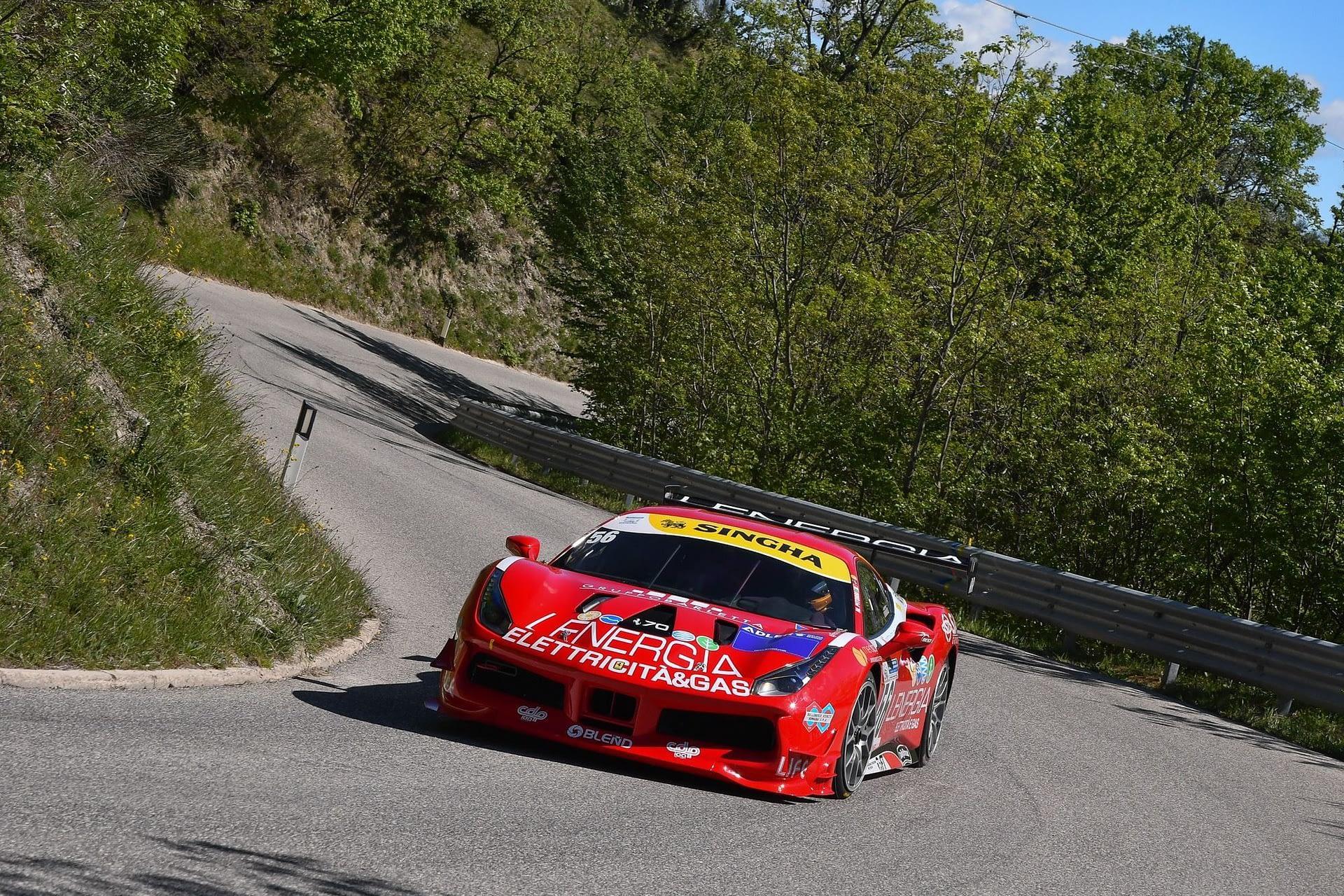 Maurizio Pitorri ( Best Lap, Ferrari 488 Challenge #56)
