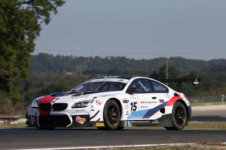Comandini-Johansson-Sims (BMW Team Italia,BMW M6 GT3 PRO #15)