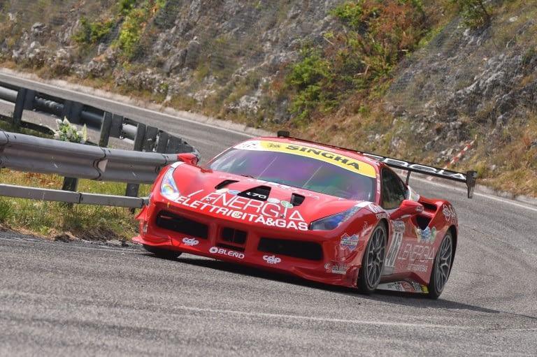 Maurizio Pitorri ( Best Lap, Ferrari 488 Challenge #46)